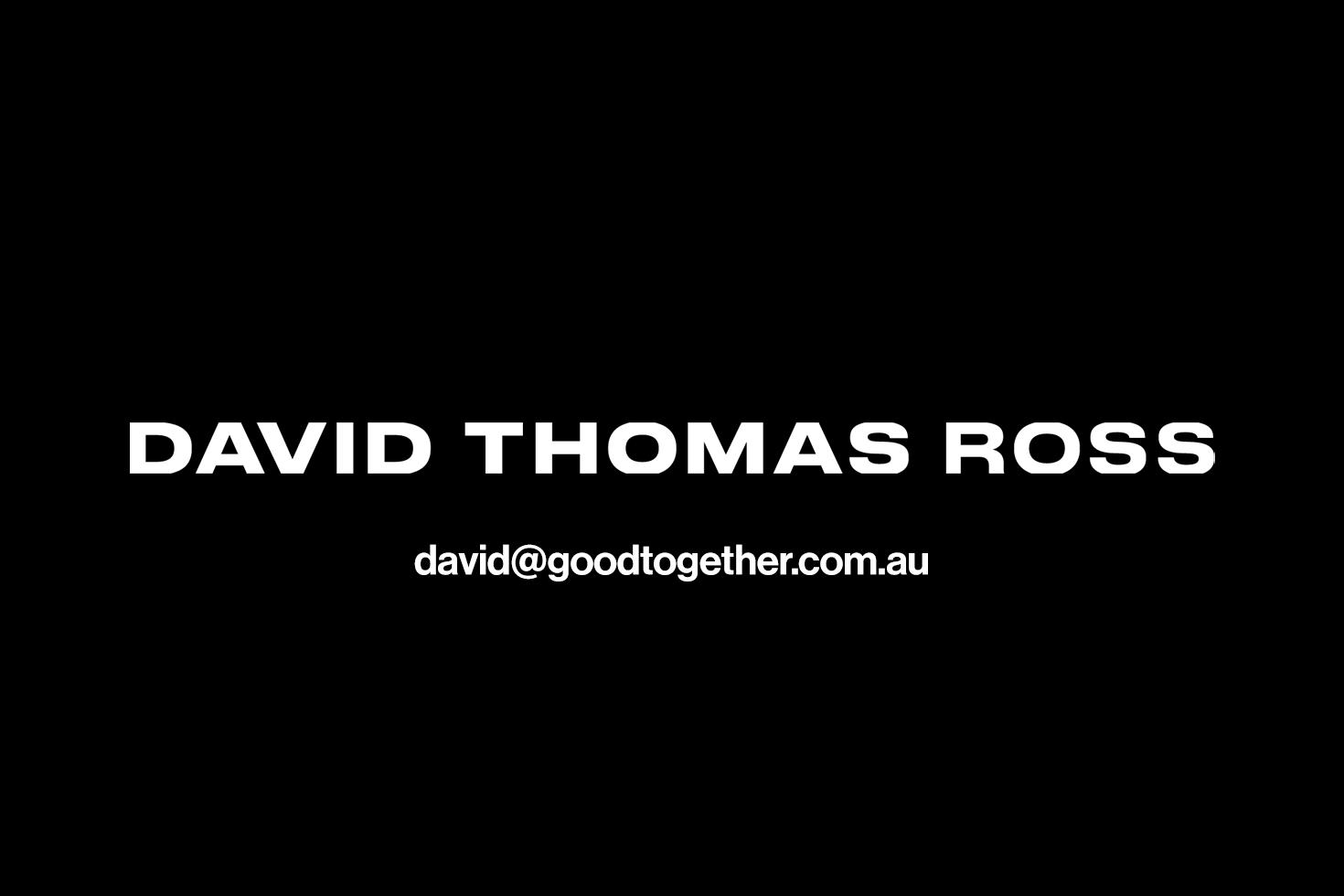 DAVID THOMAS ROSS